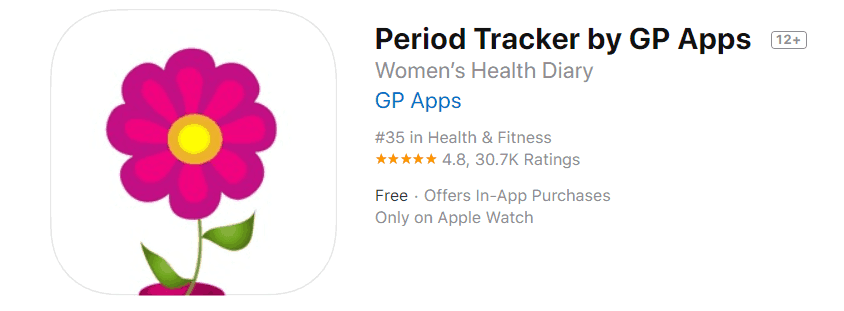 Period Tracker by GP Apps
