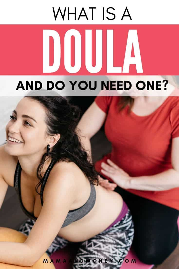doula with mother