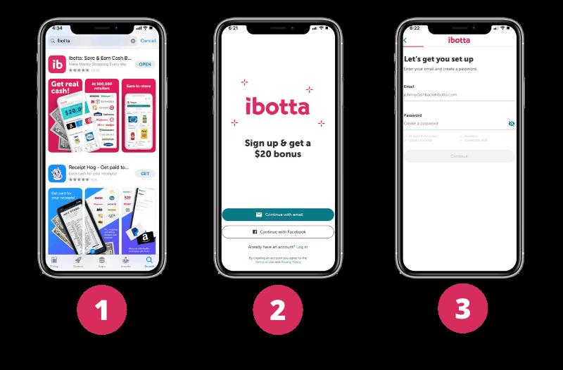create ibotta account