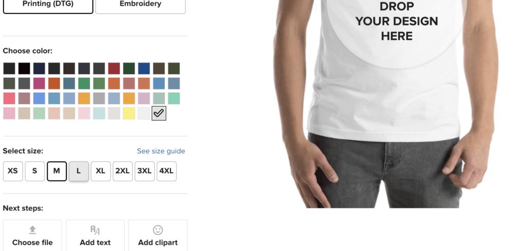 printful tshirts
