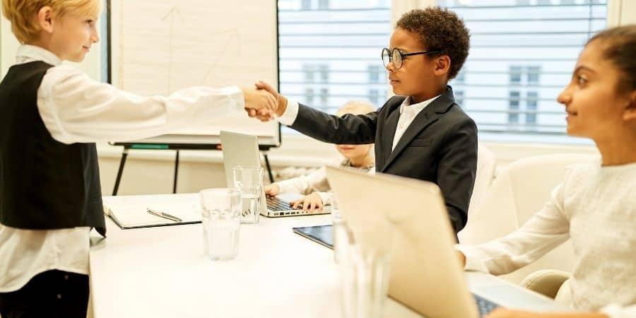 kids negotiating